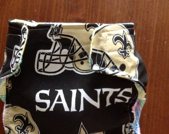 New Orleans Saints Cloth Diapers/Diaper Cover