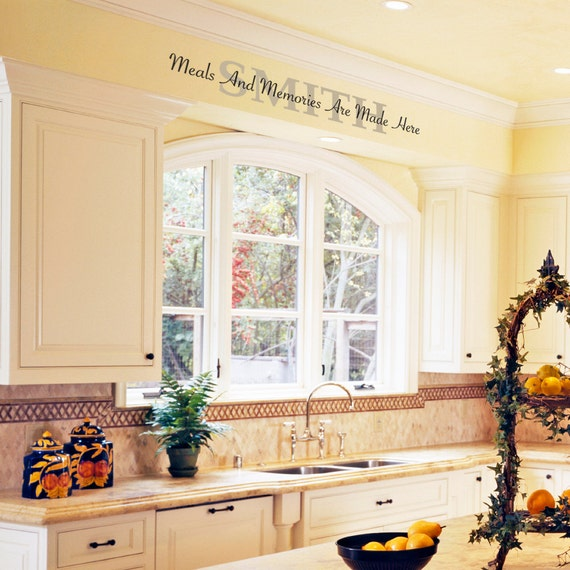 Kitchen Soffit: Meals And Memories Are Made Here