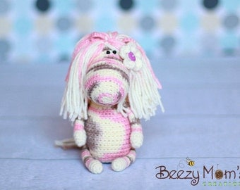 Download PDF crochet pattern 02 - Funny pony (horse)