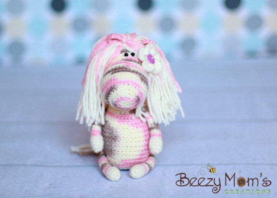 Download PDF crochet pattern 02 - Funny pony (horse)