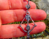 Bow and Arrow Belly Button Ring