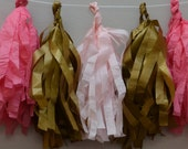 Tissue Paper Tassel Garland Decoration Your Colors
