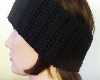 Crocheted Ski Band/Ear Warmer