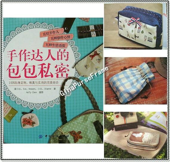 Book Cover Purse Tutorial ~ Tutorial book handmade bag secrets subjects