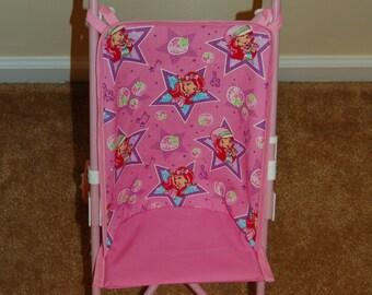 "Strawberry Shortcake ""Pop Star"" Doll Stroller Seat"