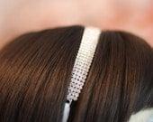 Rhinestone Wedding Headband - The Caryn Headband