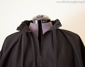 Men's Ruffled Renaissance Shirt, Men's Pirate Shirt, Ren Faire Shirt