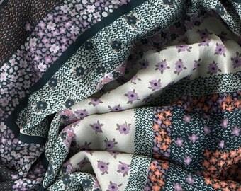 Vintage ECHO Silk chiffon scarf