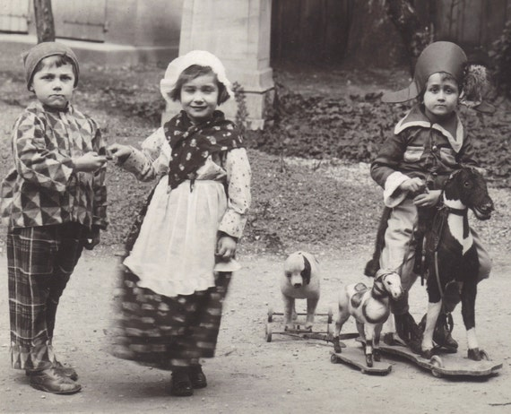 Charming Dress Up Parade, circa 1920s