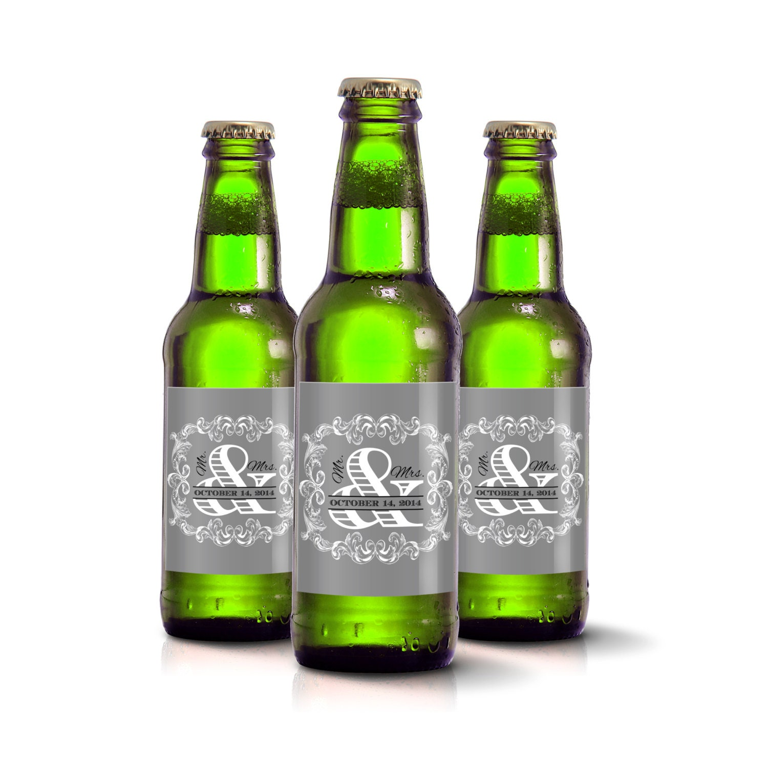 Custom Beer Bottle Labels Personalized Wedding By