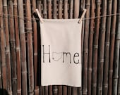 Tea Towel, Dish Towel, Hostess Gift,  Flour Sack Cincinnati Ohio Love