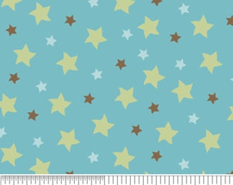 Mod Tod Blue Stars by Sherri Berry Designs for Riley Blake, 1/2 yard