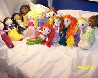 Disney princess dolls you pick