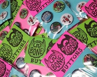 Bone Zone Podcast Super pack - w bonus button - by Friend Prices