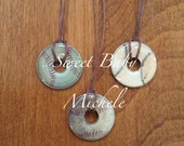 Baseball washer necklace Your Choice