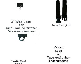 Add ons to HipNotions Tool Belts