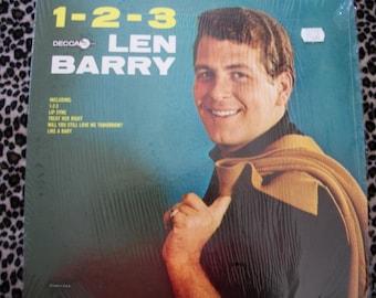 1-2-3 Len Barry, Vinyl LP Record Album, DECCA Records, by Nanas Vintage Shop