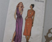 Butterick Women's Loose-Fitting Dress Pattern 6821