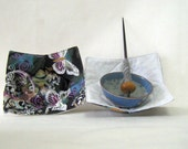 Support Spindle Bowl no-Slip  Slip cover Butterflies
