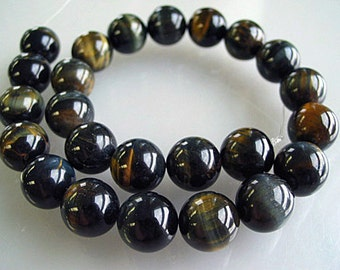 Blue Tiger Eye AAA Stone Beads 1/2 strands