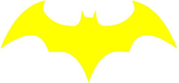 Items similar to Batgirl logo DC comics superheroine 5 ...