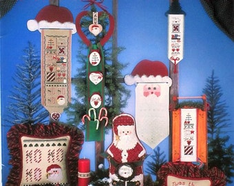 All About Santa - Mill Hill - Counted Cross Stitch Designs