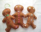 Gingerbread man ornament x3 reserved order