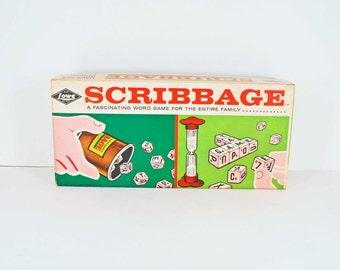 Scribbage Game by ES Lowe 1963