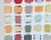 Around the Block Quilt Pattern - Printed Version