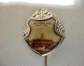 Vintage Souvenir Stick Pin, Port Hope, Town Hall