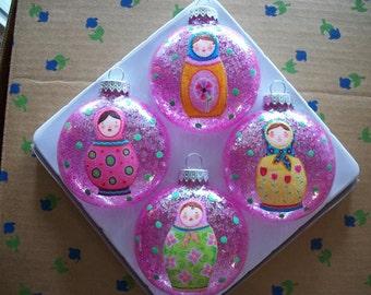 Ornaments - Nesting Dolls