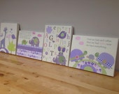 lavender Nursery Decor - ...
