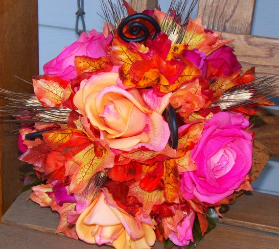 Sunset Bridal Bouquet
