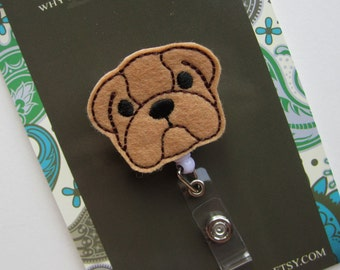 Retractable ID Badge Holder, Bulldog ID Badge Reel, Nurse, Doctor, Teacher, idbulldog54