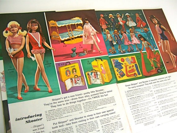 1965 Toys For Boys : Christmas penneys catalog with retro by freshretrogallery