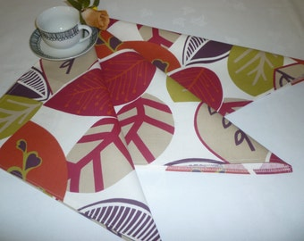 Summer Red Napkins 4 Funky Retro Fabric Napkins washable ANY of MY DESIGNS