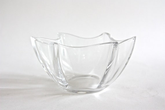 Vintage villeroy boch crystal bowl by estateeclectic on etsy for Villeroy boch crystal