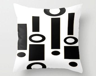 Modern Pillow, Mod Pillow, Modern Throw  Pillow, Mid Century Modern Pillow, Retro Pillow, Mid Century Modern Cushion,Cool Cushion
