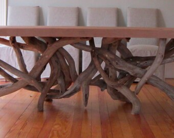 Barnwood Tangle Table