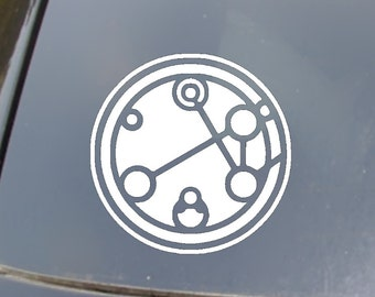 Gallifreyan Car Decal