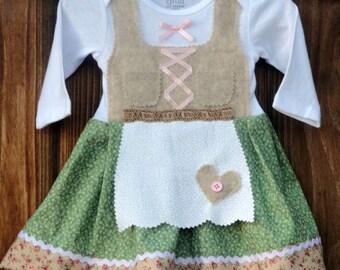 German Hansel & Gretel inspired dirndl no accessories