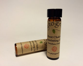 Root Chakra Anointing Oil - Great for Reiki, meditations, chakra balancing, healing, or to wear as perfume