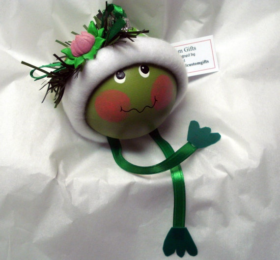 Frog Ornament Lily Pad Christmas Townsend Custom Gifts