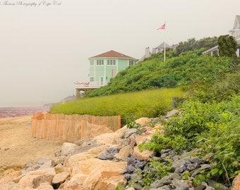 MASSACHUSETTS Photography ~ SAGAMORE BEACH Coastal Photography New England Travel Photo Landscape Nature Scenic Atlantic Ocean Sand