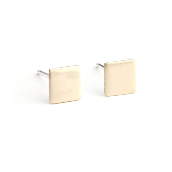 Back to Basics-Square Earrings