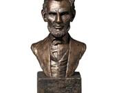 Abraham Lincoln Sculptural Inspirational Bust - Presidential bust