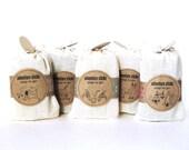 5 packs of Adventure Sticks -  Travel Size Soap - Soap To Go. - Vegan Cold Process Soap Sticks