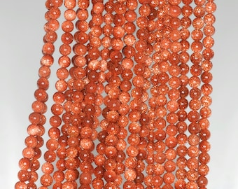 """3mm Gold Sandstone Round beads full strand 16"""" Loose Beads P142718"""