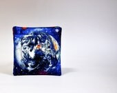 Fabric Coasters Planets and Stars Universe theme Set of 8  Reversible Man cave