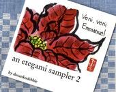 An Etegami Sampler 2 - art book, (Japanese folk art, gift, inspirational, scripture)